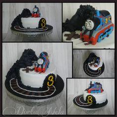 THOMAS THE TANK ENGINE CAKE (Mašinka Tomáš)