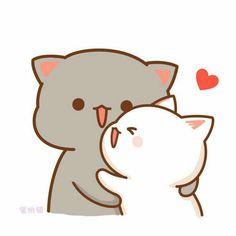 Wob & his kitten… Hello Kitty