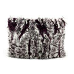 Nourison Mina Victory 12 x 18-inch Faux Fur Throw Pillow