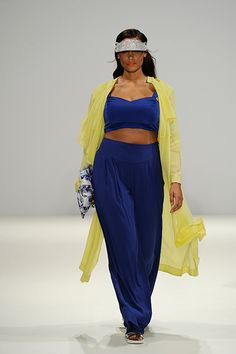 Plus Size Fashion   This Runway Show Just Made History : http://www.refinery29.com/2014/09/74692/evans-london-fashion-week-spring-2015#slide1