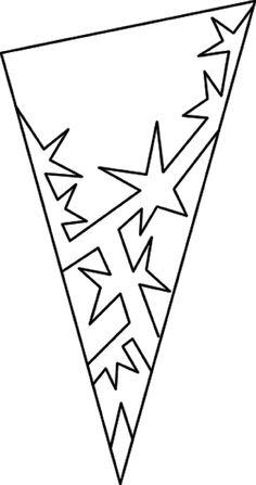 Снежинки из бумаги - разнообразные шаблоны для вырезания