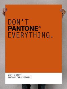 Décoration 100% Pantone