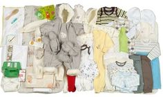 A Nation's Gift:  The country of Finland sends a gift box to every new baby.  Each year the box is different.