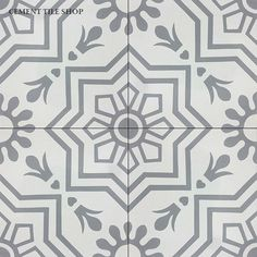 Cement Tile Shop - Encaustic Cement Tile Leon I
