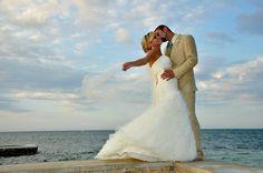 Jamaican Destination Wedding #beach @WeddingMoons #montegobay
