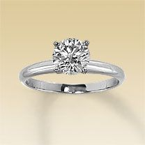 love the look of a simple solitaire ring