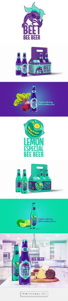 Bee Beer by Pin curated by Thiago Rodrigues dos Santos. #SFields99 #packaging #design