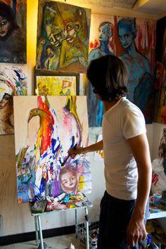 アーティストのアトリエ - Google Search