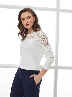 White T-Shirt -7YH663Z8-FFB