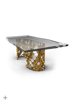 Flash Sale, BRABBU, August, 50% off, contemporary furniture, dining table, Brushed brass, resin, www.brabbu.com