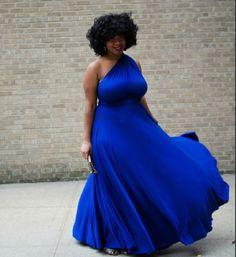 Plus Size Fashion & Natural Hair - Brianna