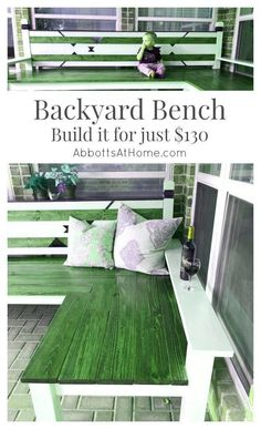 Woodworking Projects Diy How To Make DIY Plans for an L-Shaped Wood Backyard or Outdoor Bench. Budget friendly materials and easy to follow kreg jig build tutorial. This design works with Farmhouse Modern Boho Tribal and traditional style. #bench #DIY #backyard #outdoor.Woodworking Projects Diy How To Make  DIY Plans for an L-Shaped Wood Backyard or Outdoor Bench. Budget friendly materials and easy to follow kreg jig build tutorial. This design works with Farmhouse Modern Boho Tribal and…