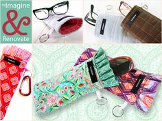 Re-imagine & Renovate: Glasses Case - For Him or Her | Sew4Home