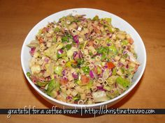 Copycat Portillos Chopped Salad Recipe---love Portillos'! If you go to Chicago, it's a MUST!