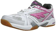 Hitec Lite Indoor Womens Court Shoes  9  Pink * More info could be found at the image url.