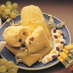 Tamales Canarios Dulces con harina de arroz tres estrellas. YUMMI