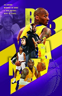 In loving memory of Kobe and Gigi Bryant. All proceeds will go to his foundation. Kobe Bryant Lakers, Kobe Bryant 24, Mvp Basketball, Basketball Posters, Basketball Motivation, Kobe Bryant Pictures, Kobe Bryant Family, Kobe Mamba, Kobe Bryant Black Mamba