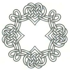 celtic heart knot tattoo designs