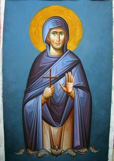 Byzantine Icons, Ikon, Saints, Princess Zelda, Projects, Fictional Characters, Art, Greece, Log Projects