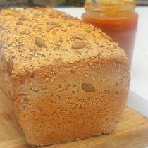 pain au sarrasin doré croustillant sans gluten