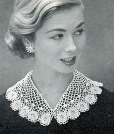 Beautiful Irish lace collar! Would look gorgeous with any dress. From 12 ways to dress Irish from Head to Toe by TheIrishStore.com