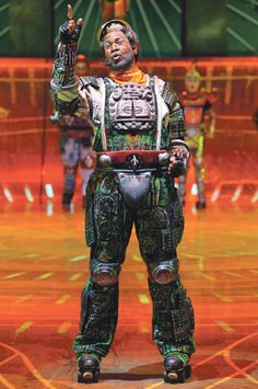 drue williams as greaseball in the german production of starlight express deutsche pinterest. Black Bedroom Furniture Sets. Home Design Ideas