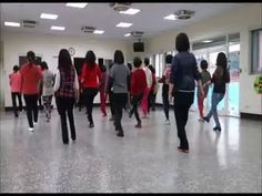 One Two Three Cha Cha Line Dance - YouTube