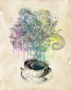 Coffee art by Linyy on Flickr