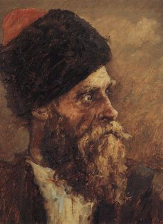Vasily Surikov - Kazak Dmitry Falcon 1893