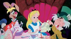 alice in wonderland tea party disney - Buscar con Google
