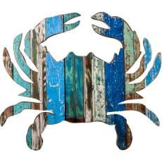 Crab Wooden Plaque