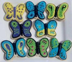 Butterflies Cookies 3
