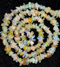 OPAL CHIPS WITH WOOD - US $9.99 New without tags in Jewelry & Watches, Loose Beads, Stone