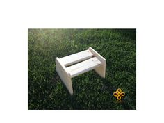 Handmade Unfinished Wood Step Stool