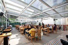 Retractable Roofs - Hospitality Floor Space, Grenada, Restaurant Bar, Hospitality, Rooftop, Outdoor Spaces, Balcony, Restaurants, Ss
