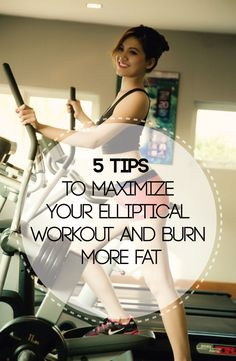 Ellipticals offer a low impact very efficient workout. However just getting on one and running through the motions will help you burn some calories but if you want maximum fat burning from your elliptical workouts you need to follow some proven elliptical workout tips.