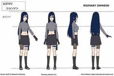 Anime Girl Crying, Anime Art Girl, Naruto Uzumaki Shippuden, Boruto, Anime Oc, Anime Naruto, Ninja 2, Naruto Oc Characters, Splatoon 2 Art
