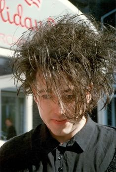 Pictures of The Cure from Holiday Inn Hotel in Bremen, Germany taken on 7 May 1989 by Anja Meyer. #The #Cure #1989 #Robert #Smith #Live #Rare #Backstage