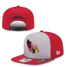 Men s New Era Gray Arizona Cardinals 2015 NFL Draft Original Fit 9FIFTY  Adjustable Hat  AZCardinals e765b1be4745