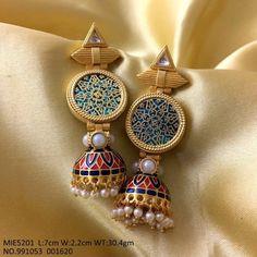 Earrings – Page 9 – Modern Jewelry Antique Jewellery Designs, Fancy Jewellery, Gold Jewellery Design, Stylish Jewelry, Antique Jewelry, Jewelery, Silver Jewelry, Handmade Jewellery, Silver Rings