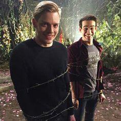 Dominic and Alberto. Bts Shadowhunters 2x14