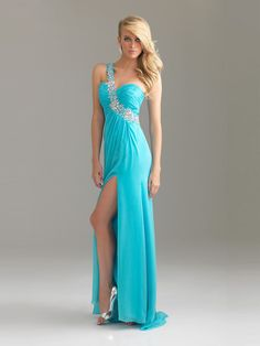 dress_New_Column_Floor_Length_One_shoulder_Light_Blue_Pd1220_Sequins_Trailing_High_Slit_Prom_Dress_Online.jpg 1,200×1,600 pixels