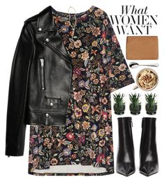 """""""i don't want to be just a thought that crosses your mind; i want to be the thought that stops other's from crossing your mind"""" by rupp ❤ liked on Polyvore featuring Balenciaga, Status Anxiety, Yves Saint Laurent, STELLA McCARTNEY, Robbe & Berking, The Giving Keys, leatherjacket, floralprint, floraldress and urbanchic"""