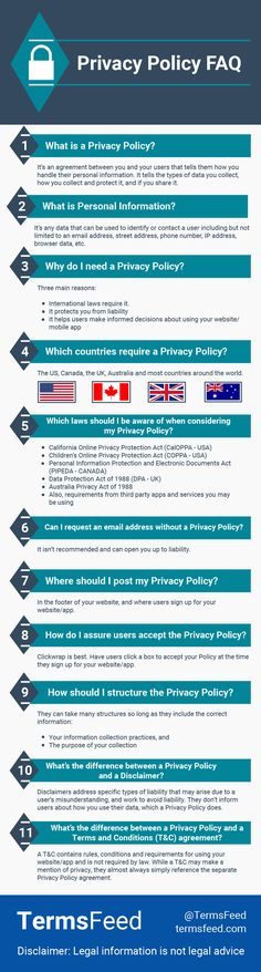 88 best Privacy Policy images on Pinterest in 2018 | Privacy policy ...