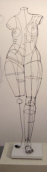 Diane Komater | Wire Sculptures