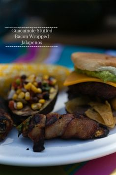 You read that right. Guacamole Stuffed Bacon Wrapped Jalapenos! Whenever we grill, whether it's for a few people, a huge crowd, for a football game, a birthday party, or just because; we make cream...