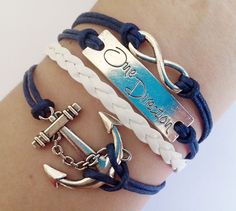 Hey, I found this really awesome Etsy listing at https://www.etsy.com/listing/173410036/anchor-bracelet-infinity-one-direction