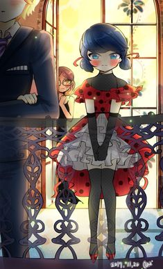 What an adorable dress Ladybug Anime, Miraclous Ladybug, Ladybug Comics, Magical Girl, Miraculous, Lady Bug, Bugs, Mlb, Anime Guys