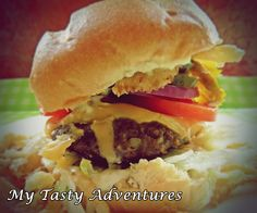 Classic American Burger. burger lesson 101