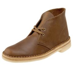 Clarks Desert Boots – Rubber sole boots with suede wolf or taupe color leather. #MadeInUK #Classic #VintageClothing #Brown #Shoes #MensFashion #RawFashion